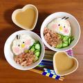簡単朝ごはん!宮崎の郷土料理*火不要!簡単冷や汁風ご飯で「ヒヨコ丼」