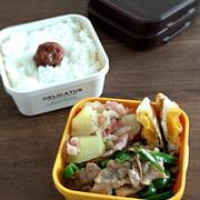 食べごたえのある ガッツリお弁当。
