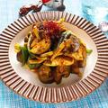 鶏胸肉となすのレンチンカレー和え【時短カンタン高たんぱく】|レシピ・作り方