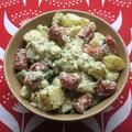 <イギリス料理・レシピ> ジャーマン・ポテト・サラダ【German Sausage and Potato Salad】