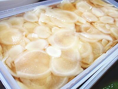 生姜の甘酢漬-手作りガリ-Part2&生姜湯(レシピ付)