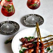 季節のおつまみ❤谷中生姜の肉巻き 【 #やさいのおつまみ #味付け黄金比 #簡単 #10分以内 】