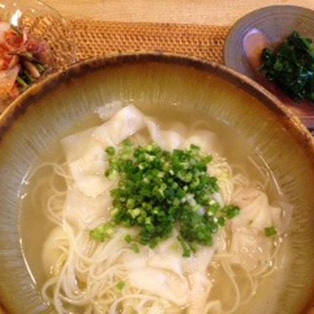 ワンタン素麺