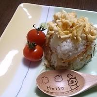 チャプチェで混ぜ寿司のお昼ご飯♪ #チャプチェ #モランボン #韓国料理 #ちらし寿司