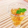 簡単キラキラゼリー……実は麦茶です
