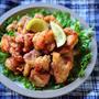 ♡揚げない&漬け込みなし♡レモン塩唐揚げ♡【#簡単レシピ#鶏肉#お弁当】