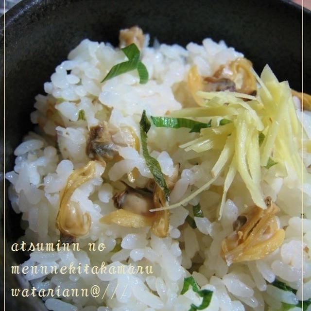 健康博覧会&簡単ふっくらあさりと生姜のご飯