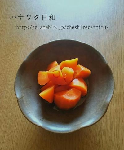 にんじんのピリ煮