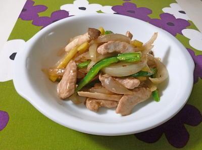 豚肉と野菜のクミン炒め