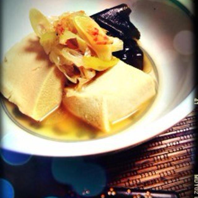 ★ノンオイルレシピ★じゅわっと美味しい♪15分でできちゃう高野豆腐の煮浸し★