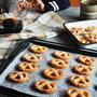 【簡単クッキー】オレンジピールのシュガークッキー【クッキーの型】