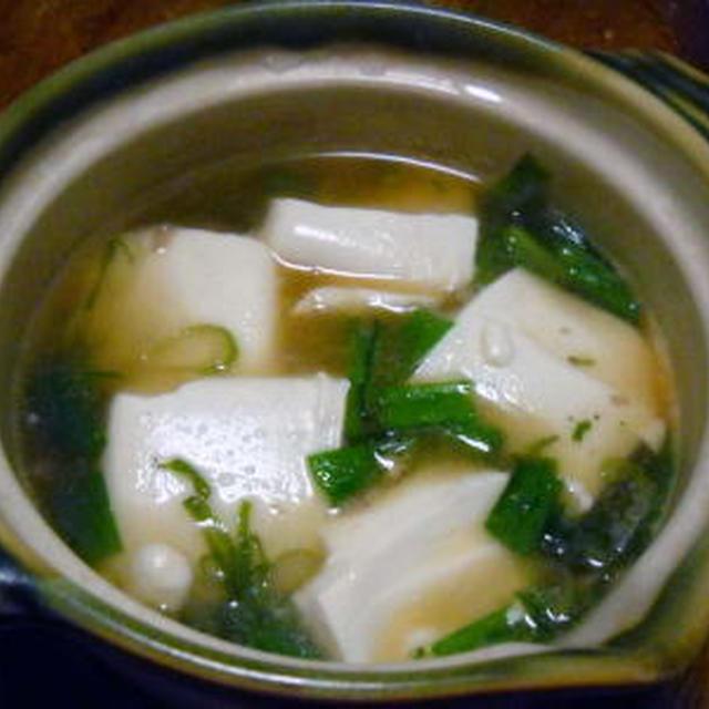 豆腐の中華風うま煮