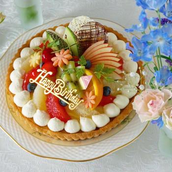ほのちゃん9歳のお誕生日会 * ケーキ編