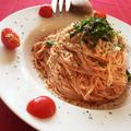 残りもので混ぜるだけ!トマトキムチ素麺 by コリーノさん