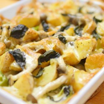 【レシピ】野菜は焼くと美味い。「じゃがいもとナスとピーマンのオーブン焼き」オーブン活用料理