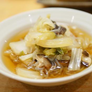 煮物は簡単。冬の煮物は白菜で。Aの分量に好きな野菜いれるだけ煮物|オンラインの料理塾限定公開配信
