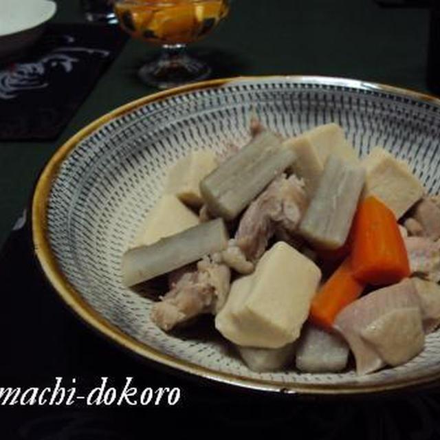 高野豆腐や、マグロや、オクラなど。
