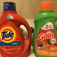アメリカの洗濯洗剤