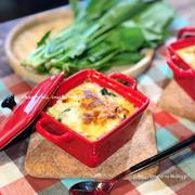 【レシピ】カロリーオフして免疫力アップ!!ほうれん草と魚介のお豆腐グラタン♡ と 寝んのかーい。