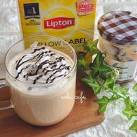 リプトンでお家カフェ♪簡単マロンミルクティー♡