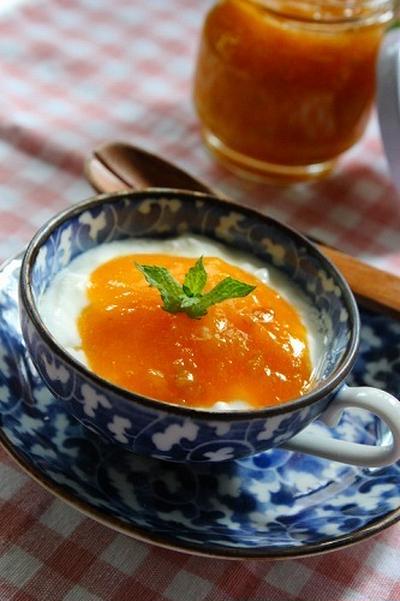 簡単!梅のヨーグルトソース