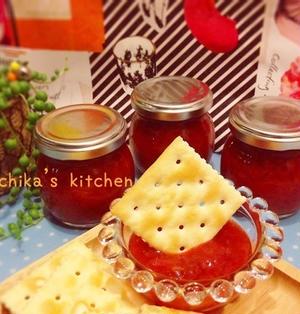 砂糖不使用♪果汁とハチミツで作るいちごジャム♡