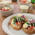 【連載】「水で変わる、毎日の料理」菜の花とサーモンのオープンサンド 公開中です!