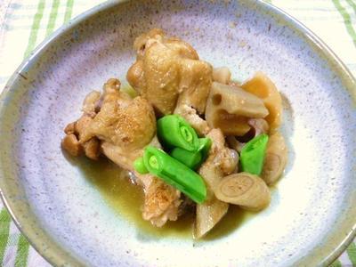 鶏肉二品目と、夕方の低血糖…(^_^;)
