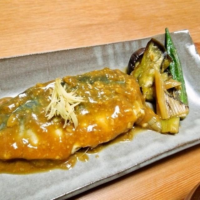 鯖の味噌煮を作ろう