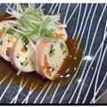 レッスンの中から一品・・和風レシピで「イカのいんろう煮」