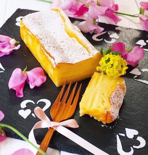 スライスチーズで、生チーズケーキ