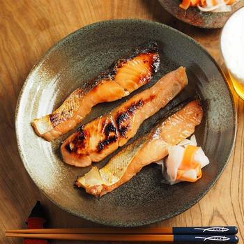 メシ通!秋鮭の味噌漬け焼き