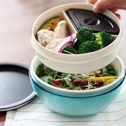 「のせるだけ丼弁当」や「たっぷりサラダ弁当」にも!麺専用ランチボウルは使いみち無限大!