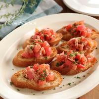 【レシピ】焦がしにんにくがやみつき♪トマトとツナのブルスケッタ