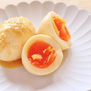 おつまみにちょうどいい。味噌煮卵(味玉)
