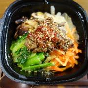 残り野菜でピビンパ&豆腐のコチィジャン煮