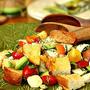 Italian Tomato Salad with Toasted Sourdough Bread