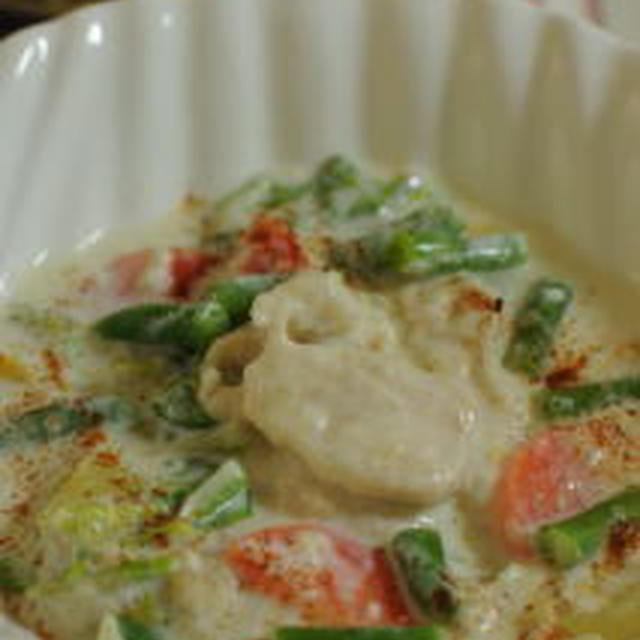 ルーなし白菜のチキンシチュー