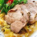 豚肩ロースのしっとりキャベツ蒸し(動画レシピ)/Steamed pork with cabbage.