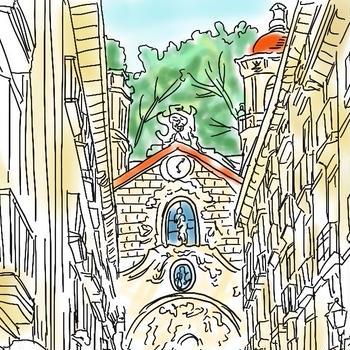 <スペイン旅の記録>サンセバ&ビルバオ3日間〜その6(グルメな街角!)