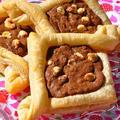 ホワイトチョコのチョコクッキーパイ