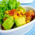 ビタミンたっぷり食事系サラダレシピ!朝活コラム掲載
