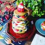 当日に思い立ってもすぐに作れる♪パンケーキで作るクリスマススイーツ