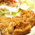 【和食】「シンプルが一番☆鶏の唐揚げ」&かぼちゃの煮物で晩ごはん。&ウエスト青山でおランチ。 by きちりーもんじゃさん