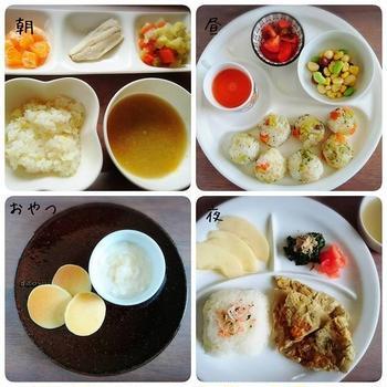離乳食完了期の献立。役立つ食材で一汁三菜を簡単に作る!