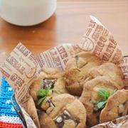 バター不要!材料3つで 超簡単!チョコチャンククッキー ☆