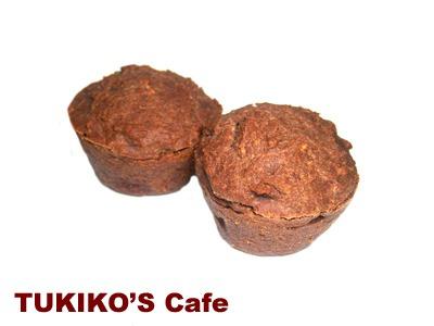 犬用ケーキレシピ【小麦 卵アレルギー犬用 豆腐&キャロブマフィン】