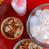 サバ缶ソーメンにアジアの香をプラス