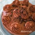 ホットケーキミックスで簡単本格!ガトーショコラ☆デコレーションokのチョコレートケーキ♪