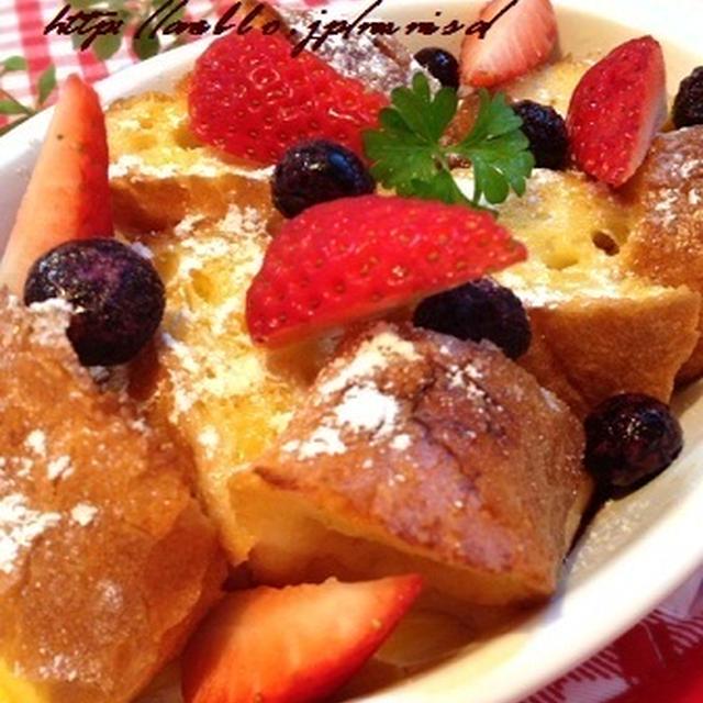 朝食に♪フレンチトースト
